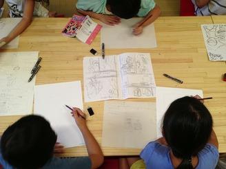 【終了】まんが絵の描き方教室(12月15日)