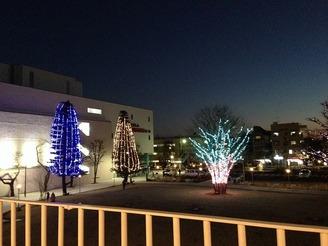 【終了】子ども未来センター前広場 ライトアップのお知らせ