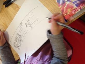 【終了】まんが絵の描き方教室(1月12日)