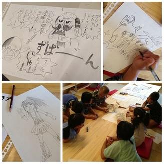 【終了】まんが絵の描き方教室 in エキュート立川 開催のお知らせ