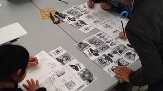 【終了】「まんがかるたの描き方教室」開催のお知らせ
