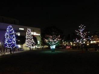 【終了】子ども未来センター前広場 ライトアップのお知らせ(2014年)
