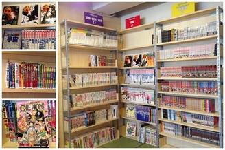 棚増設と英語版コミックス入荷のお知らせ